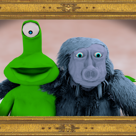 friends framed
